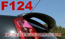 SPOILER ALETTONE GRANDE PUNTO  ALTO  GREZZO IN POLIDUR F124G-TR124-1