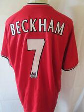 Manchester United Beckham 2000-2002 Home Football Shirt XL and Shorts /34529