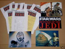 Vintage Star Wars,REVENGE OF THE JEDI,RARE KIT,SET,LOT.1981/1982,CALL SHEETS.C