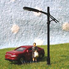 5 x N Scale Street Lights Railroad Lamp posts Model Train Lamps 12V #B111N