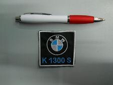 PATCH TOPPA BMW MOTORRAD K 1300 S embroidery ricamato termoadesivo 6x6