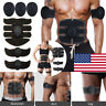 EMS Trainer Abdominal Hip Toning Muscle Gym Abs Smart Fitness Belt Battery/USB