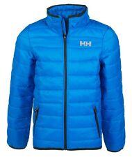 Helly Hansen Boys Quilted Jacket Coat Horten Puff Blue 16 Years / 176