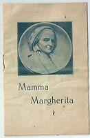 1930 MAMMA MARGHERITA Occhiena Don Bosco Ceslao Pera estratto 12 pagine raro
