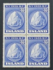 nystamps Iceland Stamp # 214 Mint OG NH    S17x496
