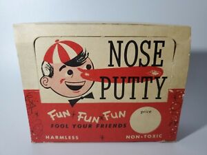 Vintage Clown Nose Putty By Thomas C. Dunham Inc. Store Display 11 Boxes RARE