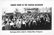 RP Postcard Sunday Night at the Chateau Ballroom Los Angeles, California~110708