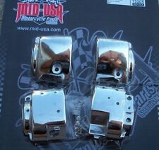 HARLEY CHROME SWITCH HOUSINGS. SUITS 07-14 MOST MODELS. QUALITY MID USA!
