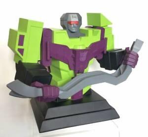 2003 Hasbro Transformers Devastator  Hard Hero Cold Cast Porcelain Bust
