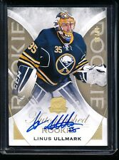2015-16 UD The Cup #117 Linus Ullmark RC Rookie Gold Auto 33/36 Autograph