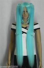 Blue Women's Straight Wigs