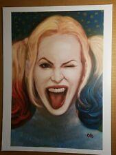 Harley Quinn Batman Villain Art Print DC Comics Poster by Frank Cho