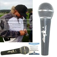 Toby Keith Signed Autographed Microphone Proof Beckett BAS Cert Red Solo Cup