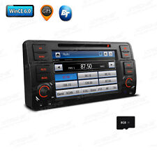 "7"" Car DVD GPS Navigation 1 DIN Radio Stereo System for BMW 320 325 E46 + 8GB TF"