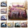 Kids Unicorn Flowers Bedding Duvet/Quilt Cover Pillowcase Comforter Cover 3PCS