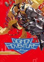 Digimon Adventure Tri: Loss [New DVD] Dubbed, Subtitled, Widescreen