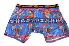 Nickelodeon Ren and Stimpy Christmas Boxer Briefs Size XL Happy Happy Joy Joy