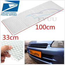 """Silver Hexagon Aluminium Universal Autos Grill Thickened Grille Mesh 0.28""""×0.47"""""""