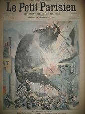 AEROSTAT EXPLOSION PICPUS BRISE-GLACE LAC BAÏKAL JOURNAL LE PETIT PARISIEN 1904