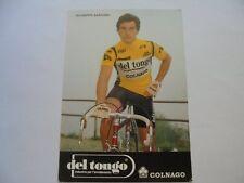 39f1b9457 wielerkaart 1982 team del tongo colnago giuseppe saronni