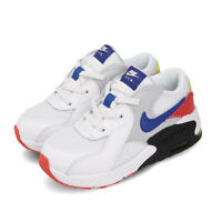 Nike Air Max Excee TD White Blue Grey Red Infant Baby Shoes CD6893-101