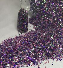 glitter mix acrylic gel nail art  FRECKLES  Limited Edition