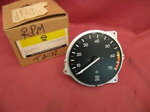 NOS Vintage Opel Commodore VDO Tachometer 1730757