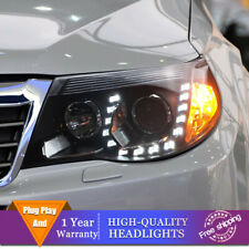 For Subaru Forester Headlights Double Lens Beam Projector HID LED DRL 2009-2013