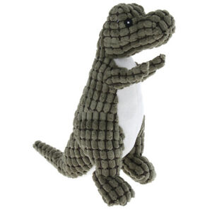 Dog Chewing Squeaky Toy for Pet Dog Dinosaur Shape Squeaker Interactive Toy