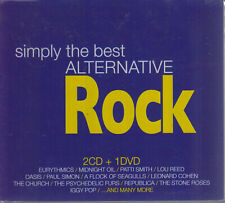 Simply The Best Alternative Rock New Oasis Iggy Pop 2 Cd's & 1 Dvd Fast Shipping