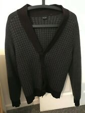"Paul Smith Jeans Wool Patterned Cardigan Medium 38"" Chest"