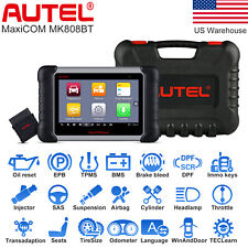 Autel MaxiCom MK808BT Auto Diagnostic Tool Full System Scanner ABS SRS EPB BMS