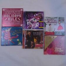 STARBUCKS CHRISTMAS HOLIDAY ALBUM COMPILATION 6 CD LOT NEW SEALED FREE SHIP TV