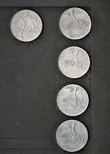 4 x 10 DM,Olympia München 1972, Silber Münzen, kompl. Satz Olympiastadion
