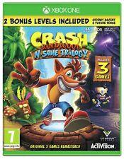 Crash Bandicoot N.Sane Trilogy Microsoft Xbox One Game - 7+ Years