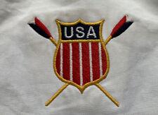Team USA nos Remo - 1998 campeonatos mundiales de peso pesado Chaqueta para hombre