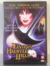 DVD Elvira's Haunted Hills PAL 2 *** Elvira *** Evil Terror Lust *** NL