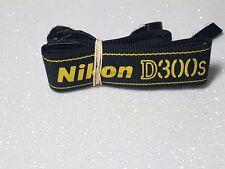 Genuino Original NIKON D300s Cámara Correa para el Hombro Negro y Amarillo Reino Unido