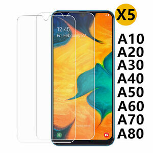 Samsung A10 A20e A40 A50 A70 21s 41 42 Film Protection Verre Trempé Vitre Ecran