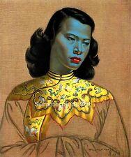 The Green Lady Vladimir Tretchikoff  Chinese Girl FINE ART PRINT