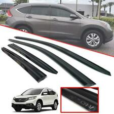 Wind Deflector Rain Sun Visor Weather Guard Black Fit Honda CR-V CRV 2012-2014