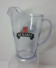 RICKARD'S RED BEER ACRYLIC DRAFT PITCHER 60 oz