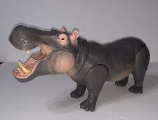 Jumanji Massive Hippo Figure Sounds Growls Gray