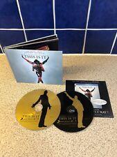 MICHAEL JACKSON This Is It 2009 USA 2-CD Rare Book Set 20 Tracks Demos Poem