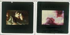 Lot 2 ektas slides originals The Hunger Catherine Deneuve David Bowie Tony Scott