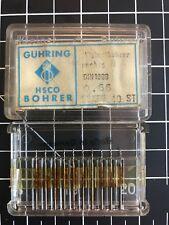 Ghring Kleinstbohrer Carbide Micro Drills Titex A3162 066 Mm Din 1899 10 Pcs