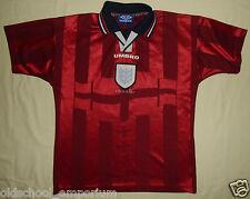 ENGLAND / 1997-1999 Away - UMBRO - vintage JUNIOR Shirt / Jersey. Size: 158