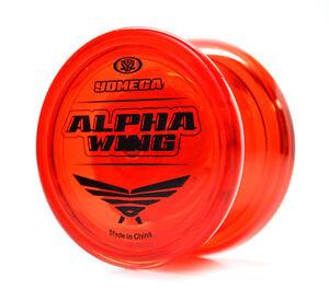NEW Yomega High Performance YoYos YoYo Yo-Yo Yo - ALPHA WING RED - Rookie Level