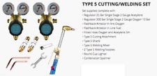 Parweld Oxygen Acetylene Type 5 Cutting and Welding Set Contractors E Kit