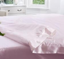Jasmine Silk 100% 19 MM Charmeuse Silk Duvet Cover (Pink) - Double